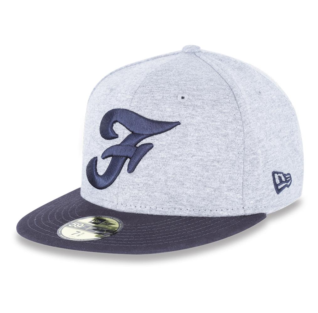 Casquette New Era 59FIFTY FRANCE Pro Cap Gris Bleu - Boutique Officielle ced824e1e387